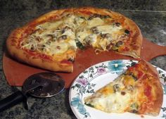 The Pizza Dough tsp yeast cup warm water tsp salt 1 Tbs flour mix together and set aside for about minutes to proof the yeast then mix Paleo Pizza, Pizza Recipes, Fish Recipes, Seafood Recipes, Pizza Pizza, Pickle Pizza Recipe, Smoked Oysters, Pickled Garlic, Oyster Recipes