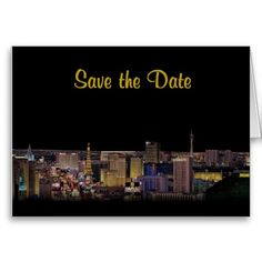 Brand New Save the Date Cards