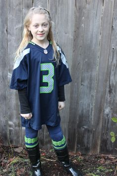Seattle Seahawks inspired boot cuffs can be by TristasCreations, $15.00