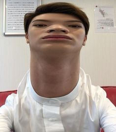 I really dont know why i'm uploading this.... but dang! i really cant stop laughing when i saw this. Reminds me of BTS V's selca XD #sungjae #btob #maknae #derpfaces ❤