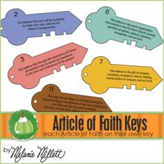 Article of Faith Keys