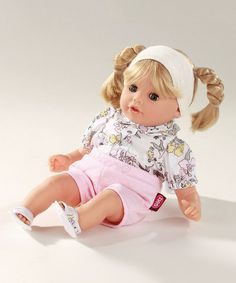 This Blonde Braids 13'' Cosy Aquini Doll by Götz is perfect! #zulilyfinds