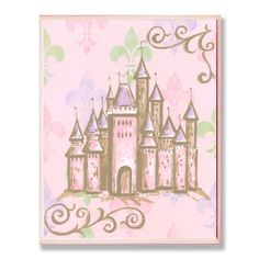 Found it at Wayfair - The Kids Room Castle Rec Wall Plaque