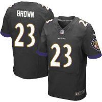 #23 Chykie Brown Baltimore Ravens Elite Jersey