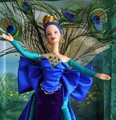 Peacock Barbie part of the birds of beauty series, simply gorgeous!