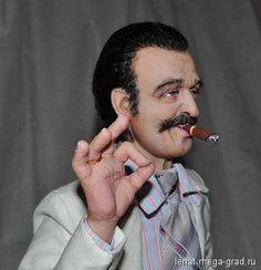 """Кукла """"Вилли Токарев"""" - портретная кукла. МегаГрад - online выставка-продажа авторской ручной работы"""