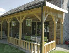 Azalp Royal Class Terrassenüberdachung Holz 400x300 cm