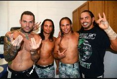 The hardys and the young bucks