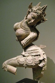 Dancing Celestial  India (Uttar Pradesh), early 12th century  Sandstone, Metropolitan Museum of Art