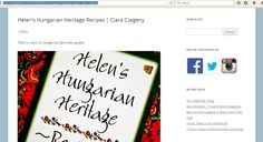 Cookbook Review - Rave - Kudos from  http://www.foodamental.com/2012/06/helens-hungarian-heritage-recipes-clara-czegeny/
