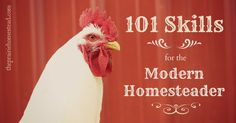 101 skills for the modern homestead