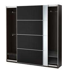 IKEA - PAX, Armario, -, 200x44x201 cm, , 10 años de garantía. Consulta las condiciones generales en el folleto de garantía.Utiliza la herramienta de planificación PAX para adaptar esta combinación PAX/KOMPLEMENT a tus gustos y necesidades.Al tener una estructura de poco fondo, es ideal para espacios pequeños.Las puertas correderas te dejan más sitio para poner muebles, ya que no ocupan espacio cuando están abiertas.Si quieres organizar el interior, puedes añadir los accesorios de interior…