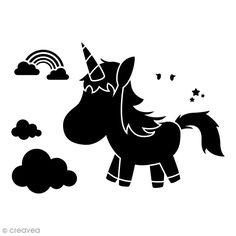Compra nuestros productos a precios mini Plantilla multiusos A4 - Unicornio de dibujos - 1 plancha - Entrega rápida, gratuita a partir de 89 € ! Silhouette Files, Silhouette Cameo, Silhouette Portrait, Flocking, Printing, Country, Mini, Fictional Characters, New Ideas