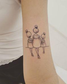 Family Tattoo: 90 Options to Register All Your Love – Mother daughter tattoos – Tatuaje familiar: 90 opciones para registrar todo tu amor – Tatuajes de madre e hija –