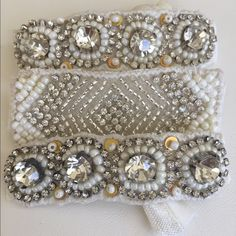 ❤️HOST PICK❤️beaded hair ties that come sealed❤️ ❤️Beautiful beaded hair ties that come sealed. 2 for 11.00.❤️ on clearance for the week only! T&J Designs Accessories Hair Accessories
