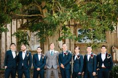 photo by Eye's and Hart Photography Groomsmen style Navy and burgundy
