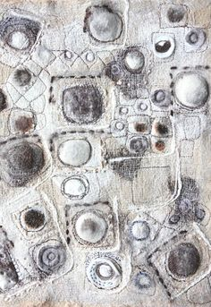 patternprints journal: BEAUTIFUL TEXTURES AND PATTERNS INTO TEXTILE WORKS BY JACKIE BOWCUTT