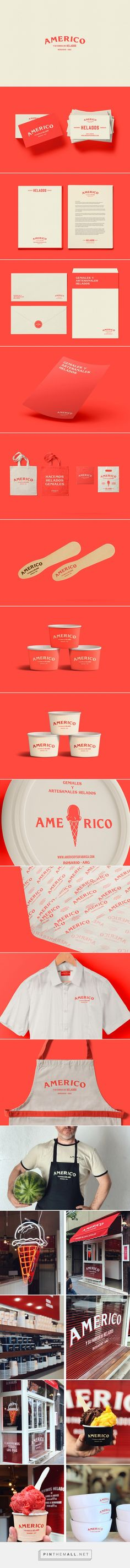 Américo y su fábrica de helados on Behance... - a grouped images picture - Pin Them All