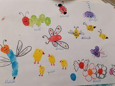 Crafturi cu amprentele copilului tău. Desen din amprenta copilului. Activitate creativă. *Fingerprint* – Curioși de mici Home Decor, Decoration Home, Room Decor, Home Interior Design, Home Decoration, Interior Design