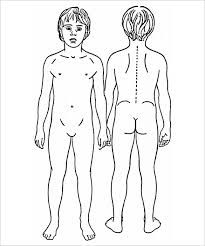 image result for female body outline template