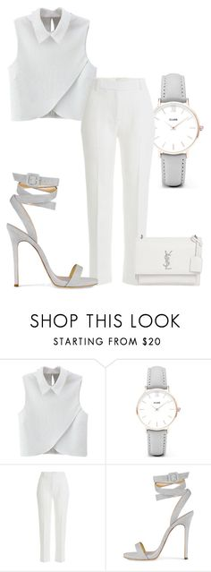 """Walk the Dog"" by roxysgotmoxy ❤ liked on Polyvore featuring WithChic, CLUSE, 3.1 Phillip Lim and Yves Saint Laurent"