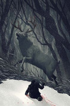 Hannibal by Kevin Tong #illustration