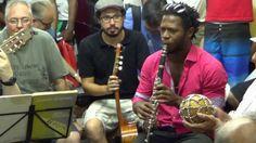 Gabriel toca Clarinete na Roda de Choro