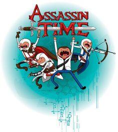 Adventure Time + Assasin's Creed.