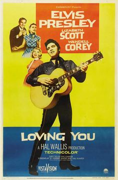 Today 7-9 in 1957: Elvis Presley's second film, Loving You, has its US premiere.