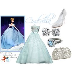 """Disney Princess: Cinderella"" by awkwardturtle31415 on Polyvore"