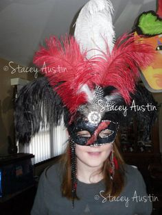 DIY Masquerade Mask Gothic #halloween #costume #party
