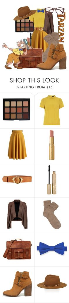 """Professor Archimedes Q. Porter"" by imagine-disney ❤ liked on Polyvore featuring Morphe, Dorothy Perkins, Chicwish, Too Faced Cosmetics, Roberto Cavalli, Stila, MuuBaa, Falke, Tommy Hilfiger and Steve Madden"