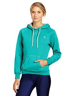 Champion Women's Pullover Eco Fleece Hoodie >>> Learn more @ http://www.myvacationdestinations.com/fitness_store/champion-womens-pullover-eco-fleece-hoodie/?za=050716043711
