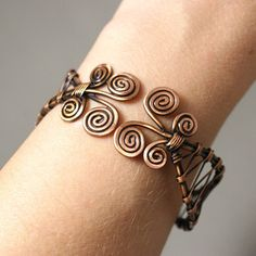 7th anniversary gifts for women copper bracelet copper