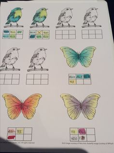 Copic color blending ideas from an online Copic class practice sheet