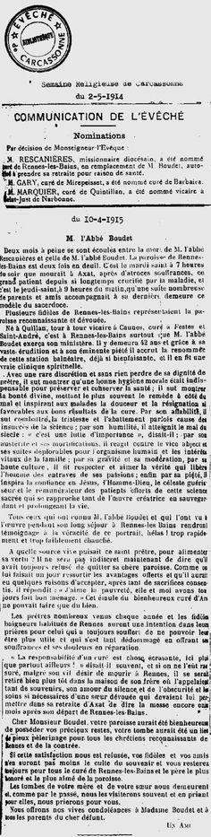 Boudet - Rennes-le-Château Archive
