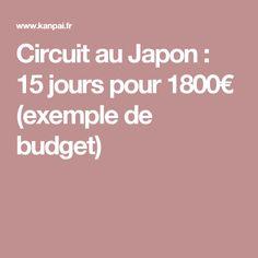 Circuit au Japon : 15 jours pour 1800€ (exemple de budget) partez en voyage maintenant www.airbnb.fr/c/jeremyj1489