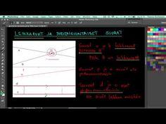 Geometria: Miten yhdensuuntaisuus voidaan merkitä?