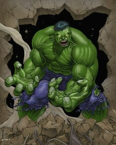 This is Fu*king awesome....The Hulk.....