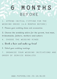 The Essential Planning Checklist Wedding Planning Checklist, The Essential, Wedding Attire, Initials, Essentials, Bridesmaid, How To Plan, Maid Of Honor, Welding Clothing