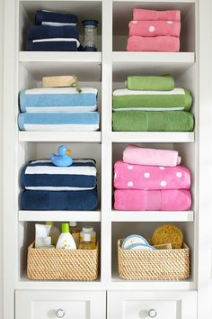 Spring cleaning? We're talking all-year organization with wall storage systems that will transform your living room and play room.