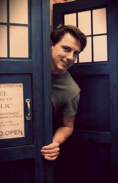 John Barrowman and the TARDIS