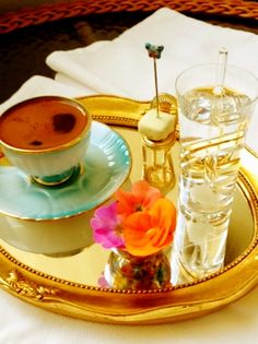 Turkish coffee http://www.turkishstylegroundcoffee.com/turkish-coffee-recipe/ #turkishcoffee #turkishcoffeerecipe