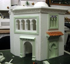 Navity Scene, Belem, Miniture Things, Little Houses, Model Trains, Legos, Tiny House, House Plans, Shed