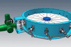 Ø1300 Vortex Damper - Autodesk Inventor, KeyCreator, STL, STEP / IGES, Other - 3D CAD model - GrabCAD