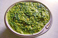 Indischer Linsen-Spinat-Topf