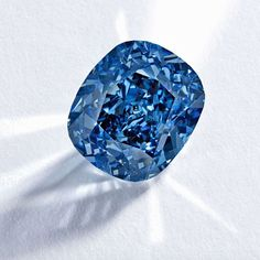 Sotheby's flawless Blue Moon diamond, a 12.03ct will be the largest ever blue diamond ever to appear at auction. It was cut from a 29.62 rough blue, found by Petra Diamonds at the South African Cullinan mine in Jan 2014. It was purchased by Cora International and took 6 months to cut and polish. Estimates for auction will be between $35 and $55 million.