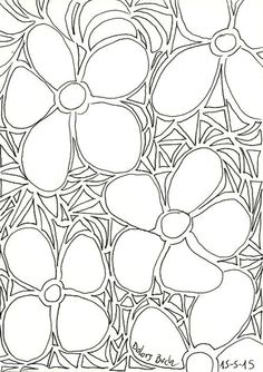 Dolors Buch. Enramada triangles.  15-5-15