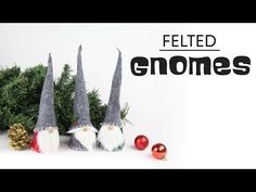 Scandinavian Tomte Nisse Christmas Gnome DIY Tutorial - YouTube
