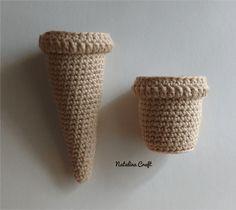 Free crochet pattern Ice cream. Make you own ice cream! #pattern #crochet #food #icecream #game #toy #summer #amigurumi Ice Cream Games, Crochet Toys, Free Crochet, Pattern Making, Make Your Own, Free Pattern, Crochet Patterns, Crocheted Toys, All Free Crochet